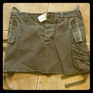 SuperDry cargo mini skirt